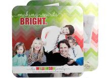 Christmas card trends: Metallic Chevron Cards (Erin Condren Designs)