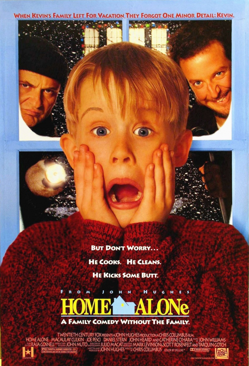 Home Alone movie cover