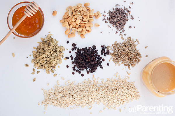 allParenting Protein packed granola ingredients