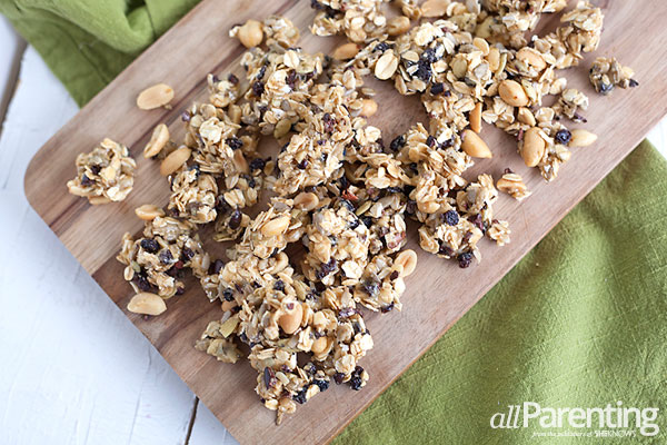 allParenting Protein packed granola
