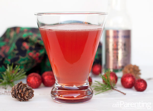 allParenting Pomegranate gin fizz