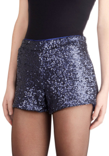 Wear sequins: shorts