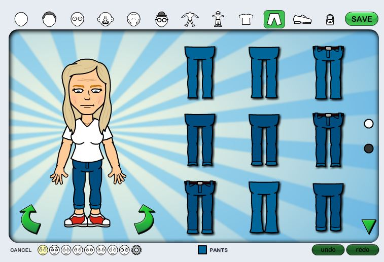 how to create bitstrips on facebook