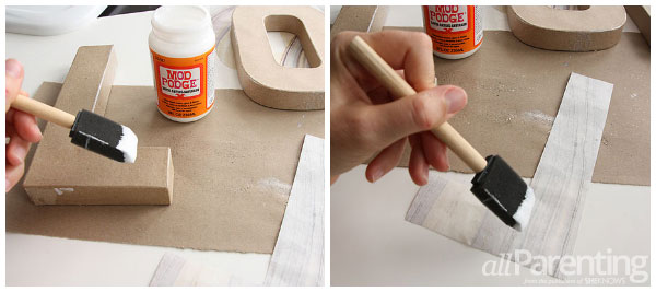 allParenting holiday word DIY step 2