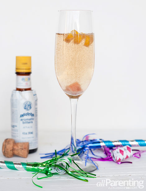 allParenting Champagne cocktail