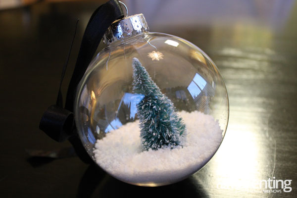 allParenting snow globe ornament step 3