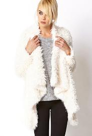 Unconventional coats- Bohemian shag coat