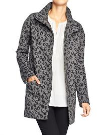 Unconventional coats- Leopard print coat