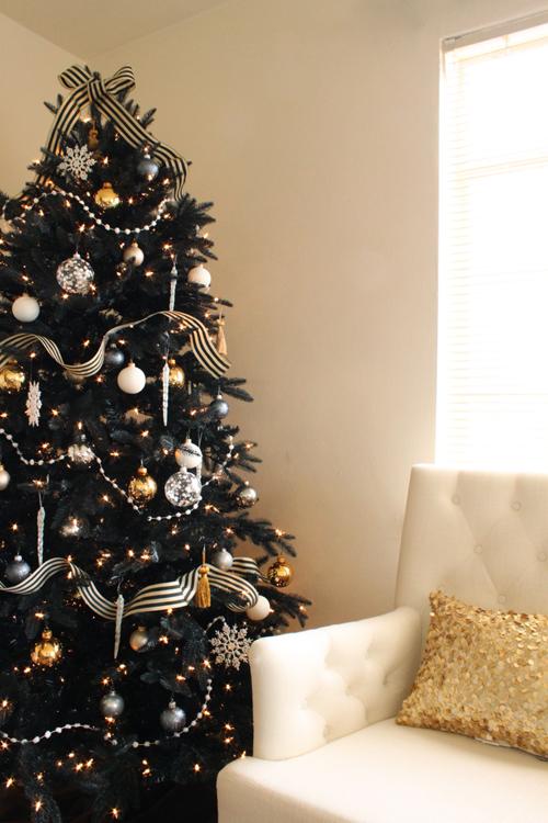 UNique Christmas trees- Black tree