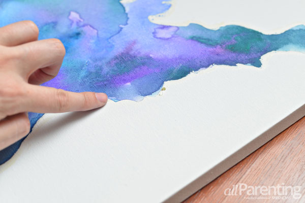 Hand painted map art tutorial allparenting water color map step 10 gumiabroncs Image collections