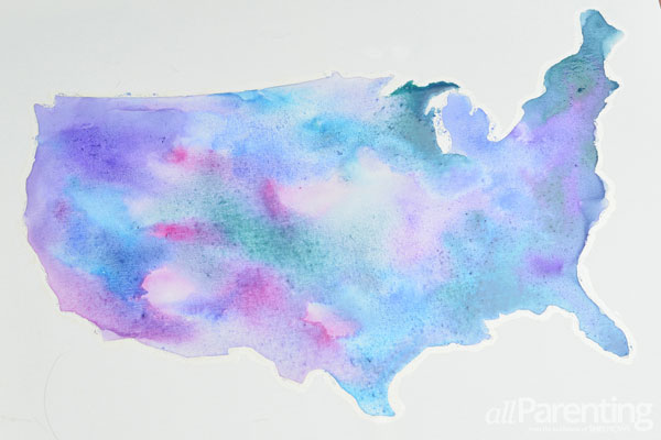 allParenting water color map step 9
