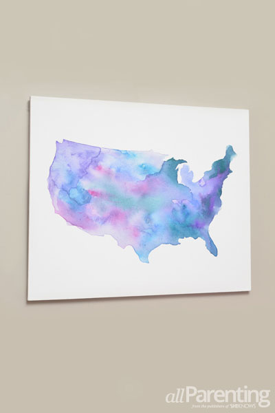allParenting water color map