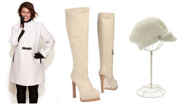 wearing white in winter- outerwear