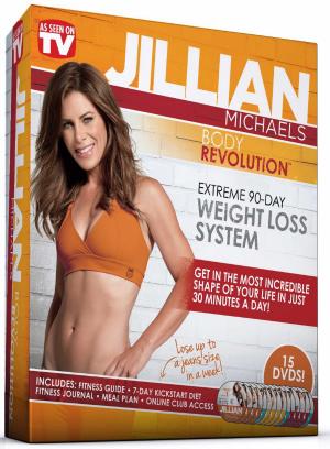 Workout DVDs- Jillian Michaels Body Revolution