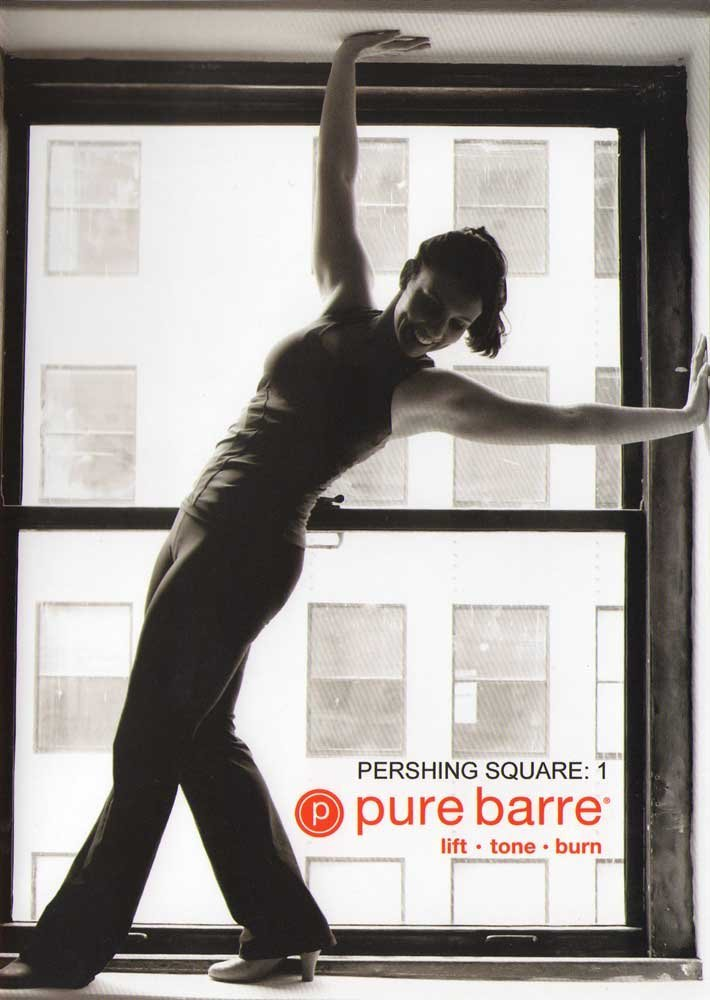 Workout DVDs- Pure Barre Pershing Square 1: Ballet, Dance, Pilates Fusion Workout