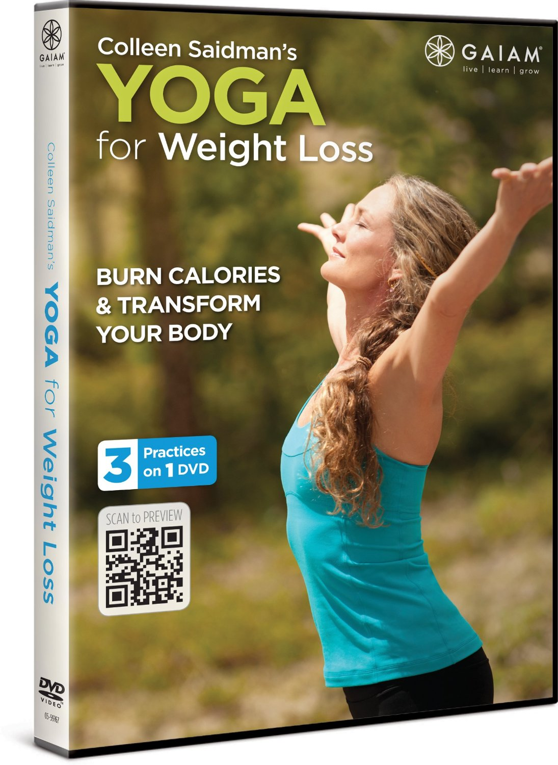 Workout DVDs- Colleen Saidman's Yoga for Weight Loss