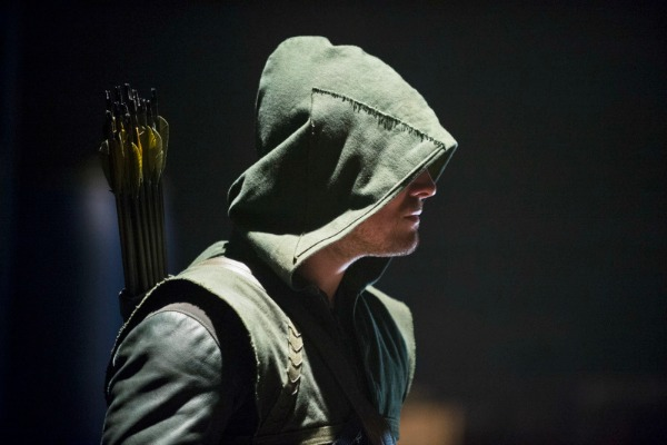About time! Arrow finally gives Oliver a mask