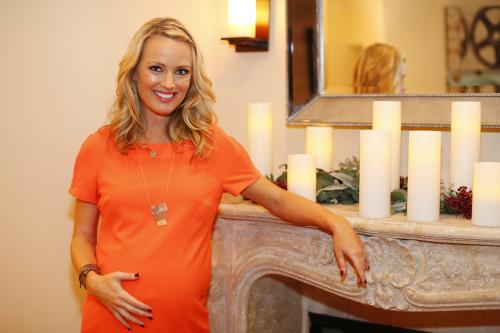 Pregnant Brooke Anderson