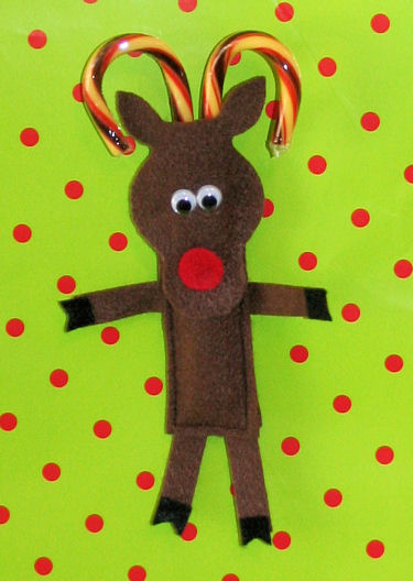 candy reindeer