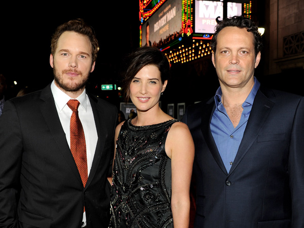 Vince Vaughn, Cobie Smulders and Chris Pratt