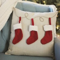 Christmas stocking pillow