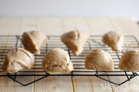 cinnamon maple scones