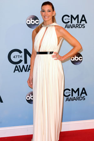 Faith Hill at the 2013 CMAs