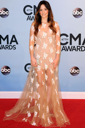 Kacey Musgraves at the 2013 CMAs