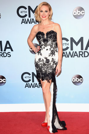 Laura Bell Bundy at the 2013 CMAs