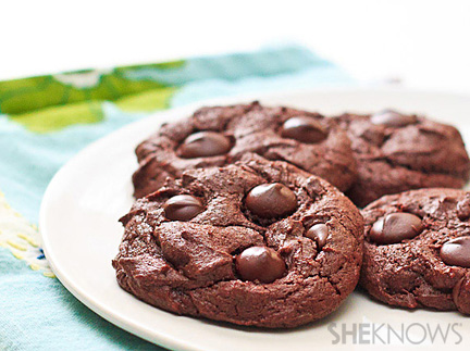 Decadent Mexican hot chocolate chip cookies