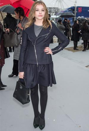 Get the look: Chloe Grace Moretz's flirty skirt