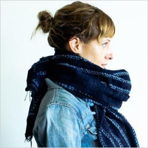 Oversize shawl