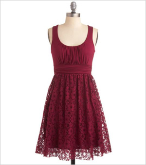 Holiday dress for rectangle body type