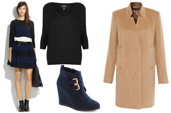 How to wear skirts in the winter -- wear a long coat