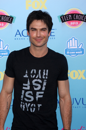 Ian's Sexiest Man Alive shoot for People