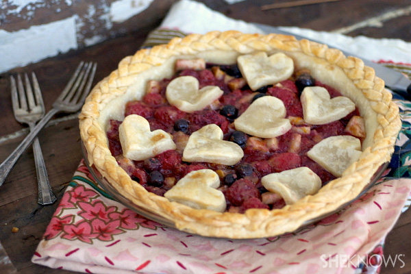 A gorgeous way to adorn your pies