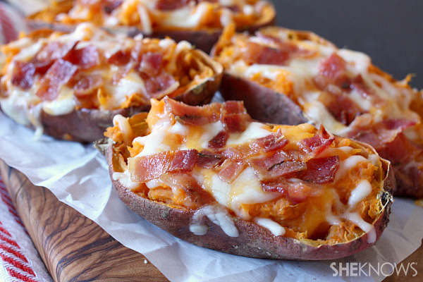 These potato skins are even better than the classic dish because they ...