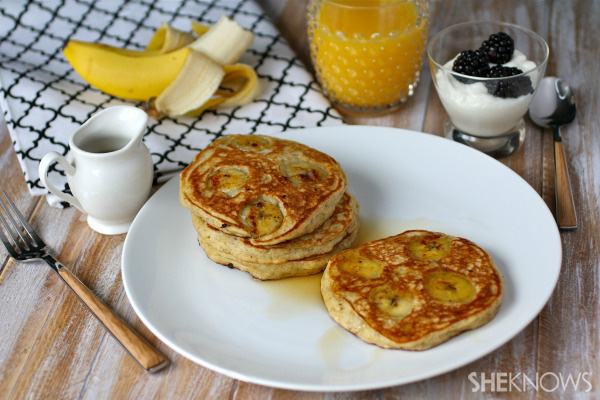 Go bananas over these pancakes!