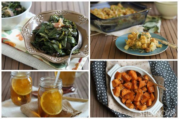 Lightened up Southern Thanksgiving menu