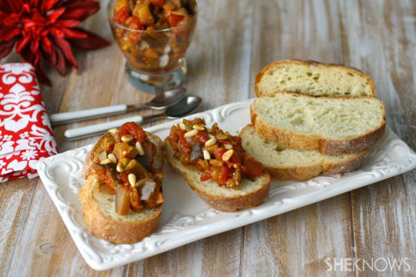 Try a veggie-based appetizer!