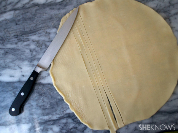 How to make a braided pie crust