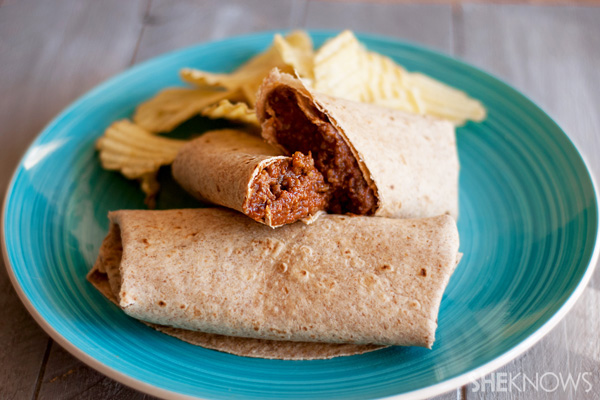 Easy sloppy joe wraps