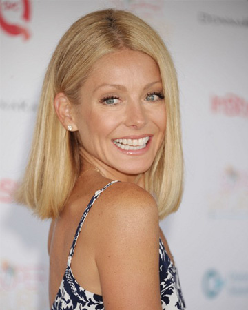 Interview With :    Kelly Ripa, Actress and Talk Show Host On Beauty Secrets