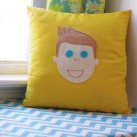 Custom kid's pillow