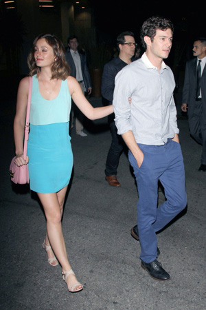 "Leighton says ""I will""  to Adam's proposal"
