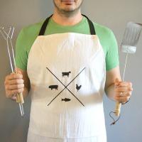 DIY Manly apron