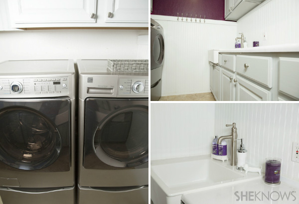 Check out photos from James and Susie's laundry room makeover!