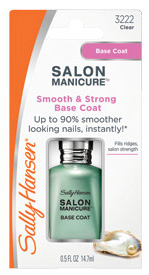 Salon Manicure Smooth and Strong Base Coat (Sally Hansen, $8