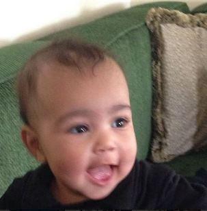 Kim Kardashian's daughter North West