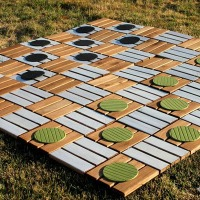 Super-sized checkers